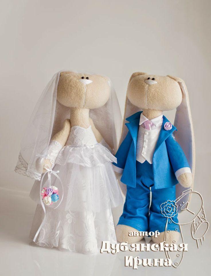 Millones de aves. Autor Irina Dubyansky: La novia y el novio en un traje azul :)