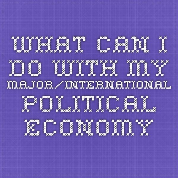 What sort of job can I get with a BA in International Relations?