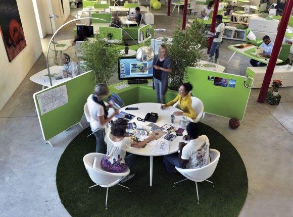 38 best proyectos reas de trabajo images on pinterest for Modelos de oficinas
