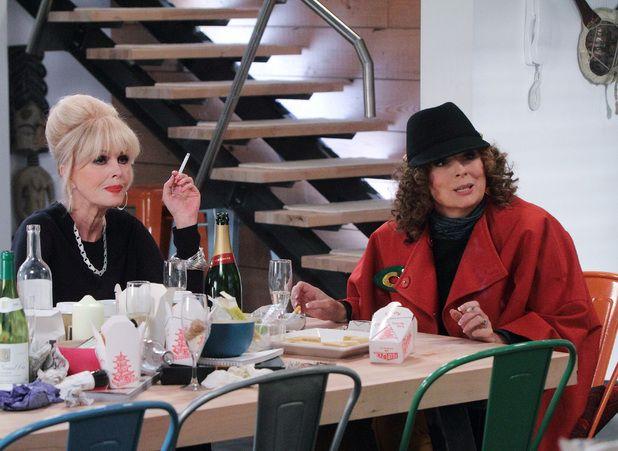 """Absolutely Fabulous: Season 6, Episode 3 """"Olympics"""", Edina & Patsy"""