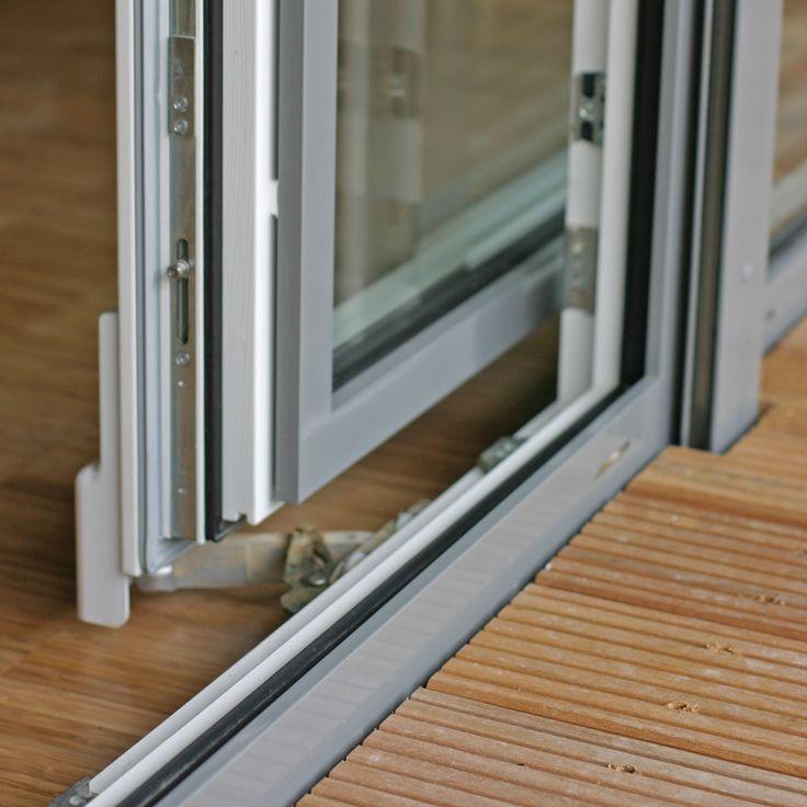 terrassent ren parallel schiebe kipp t r psk aus holz aluminium ideal f r kleine fl chen. Black Bedroom Furniture Sets. Home Design Ideas