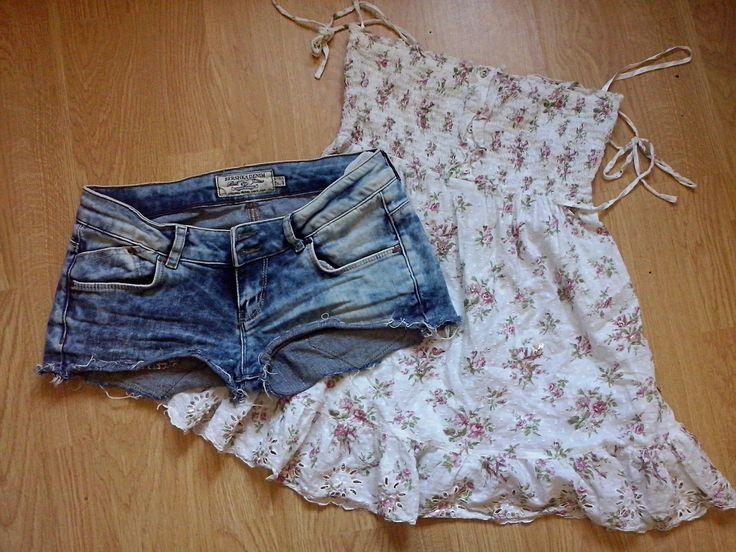 hermosos: Jak z jednej bluzki zrobić dodatek do spodni i modny top?