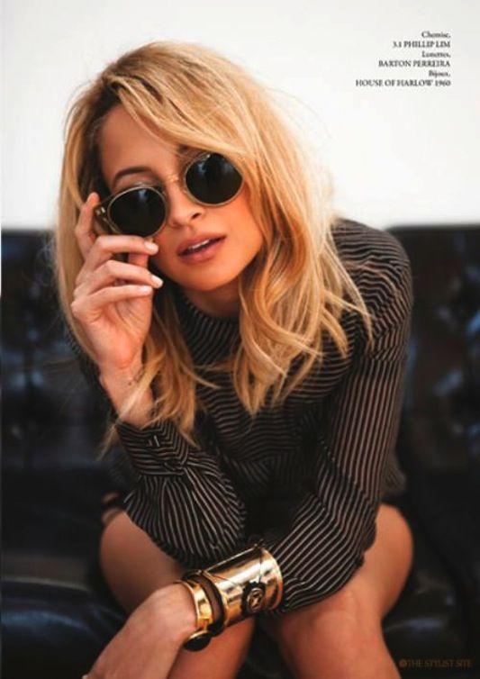 Nicole Richie - New Hair Color - Elle