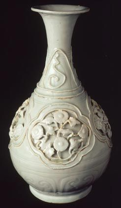 The Fonthill Vase - the earliest recorded piece of Chinese porcelain in Europe, a gift to King Louis of Hungary from Chinese emissaries in 1338.