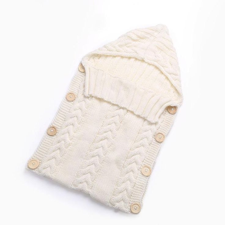 Organic Cotton Knitted Wrap Blanket