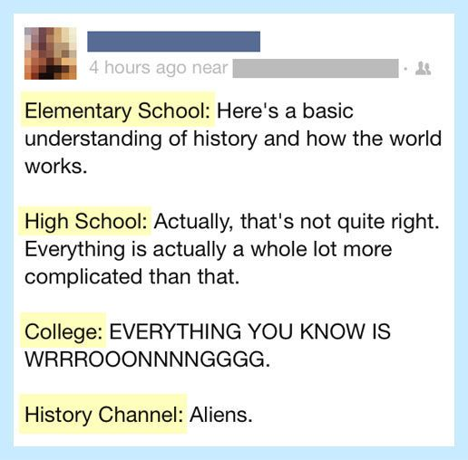 Everything you know about history is wrong… #lol #haha #funny