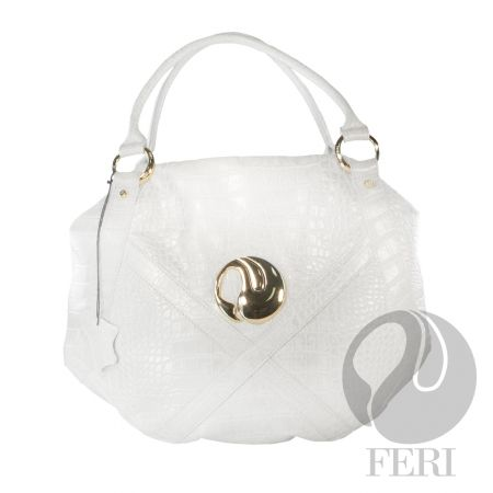 The Swan Handbag, beautiful soft Italian leather  (click on pic to go to my website)