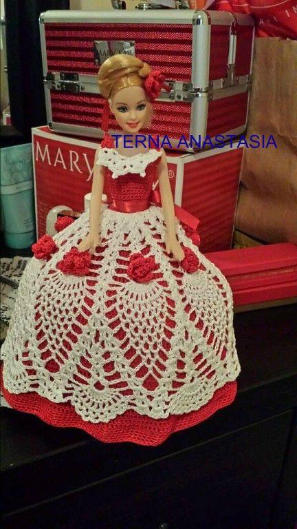 DOLL crochet dress   35 EURO