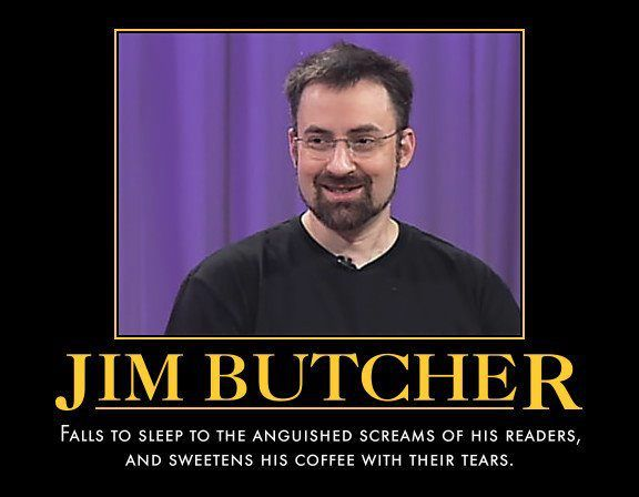 Jim butcher writing advice from famous authors
