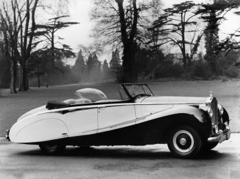 Rolls-Royce Silver Wraith Tourer by Hooper (WVH74) '1953