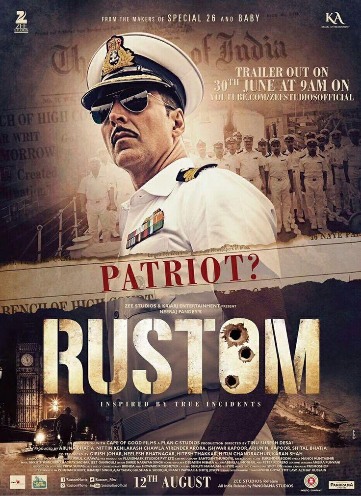 Akshay Kumar in Rustam Rustom movie, Movie songs, Movies