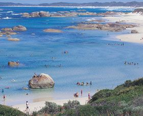 Greens Pool - Attractions - Tourism Western Australia - near Denmark WA