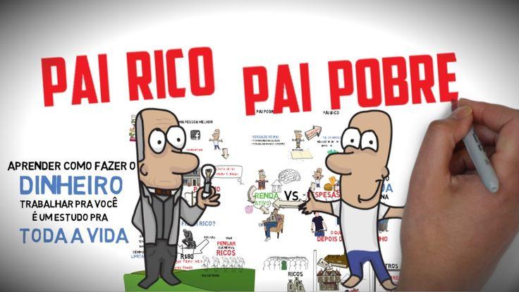 COMO FICAR RICO? | PAI RICO PAI POBRE | Principais ideias