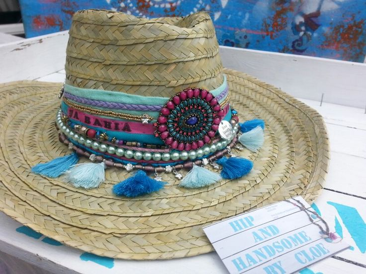 * Ibiza Hats made by Hip & Handsome by Cloe*