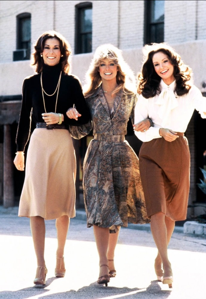 Surprisingly Timeless Fashion Vintage 1970s Charlie 39 S Angels 1970s Pinterest 1970s