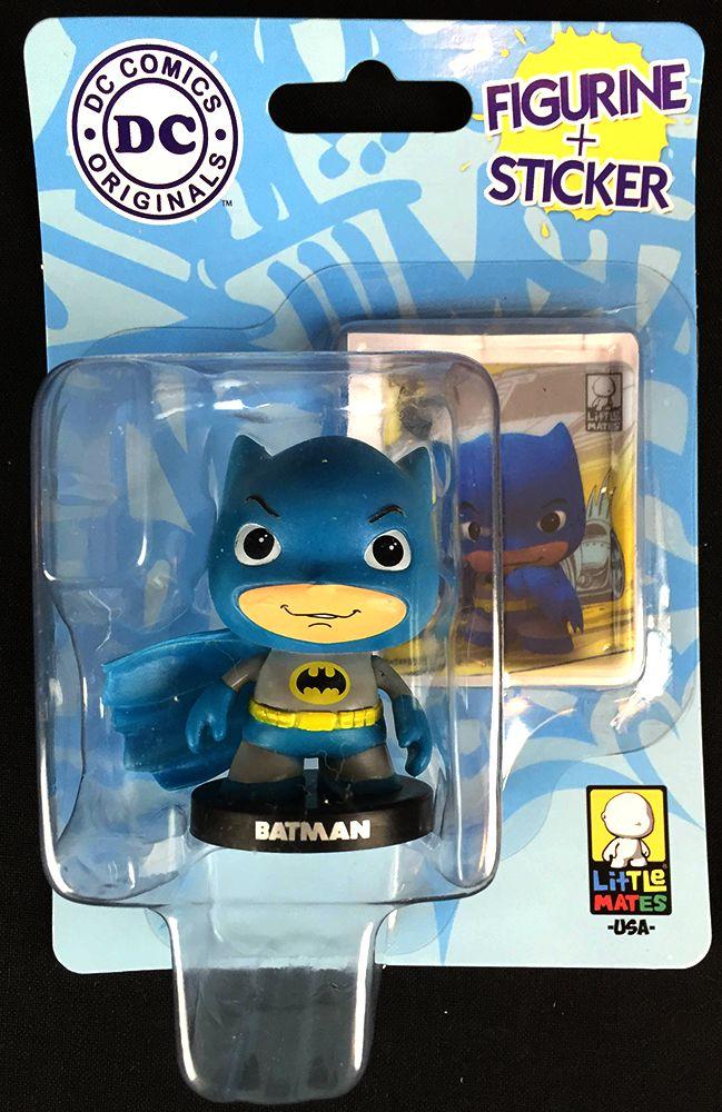 Little Mates Batman Figuring and Sticker From June's Nerd Block Jr. For Girls