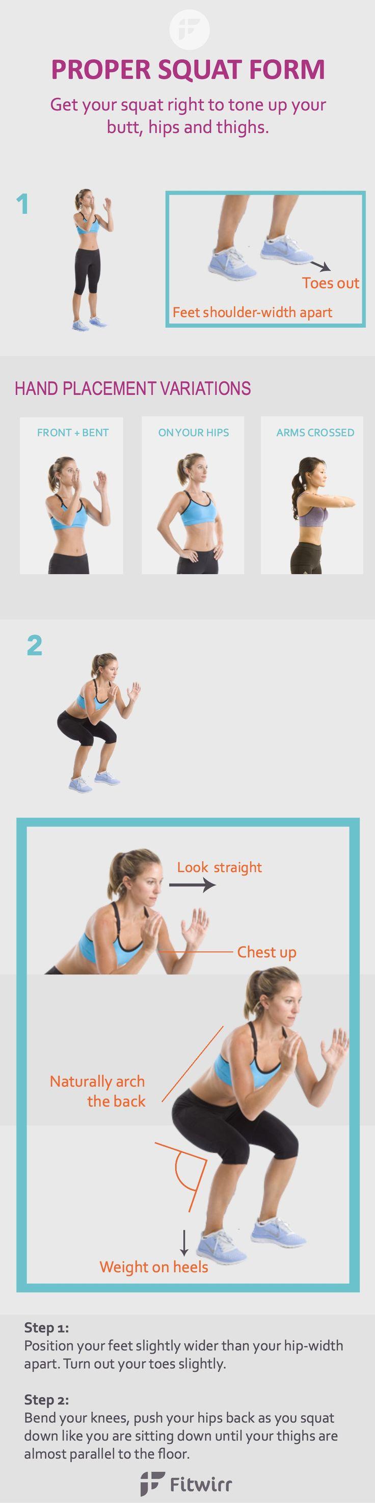 A proper squat form guide to better squats