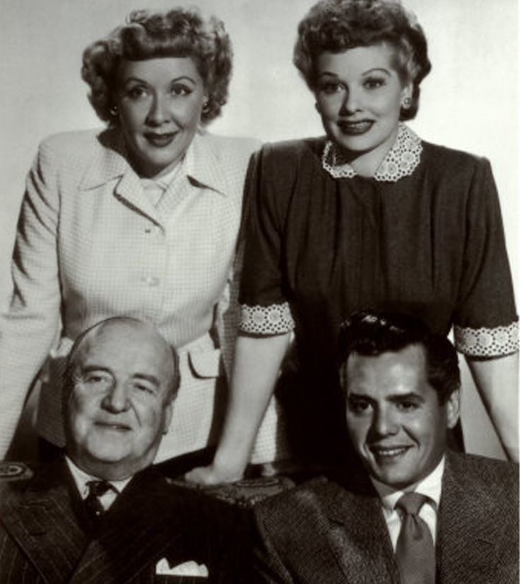 Ethel was married to Fred (played by William Frawley). Description from pinterest.com. I searched for this on bing.com/images