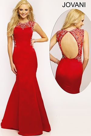 Cap sleeve long dress 90676 red 05