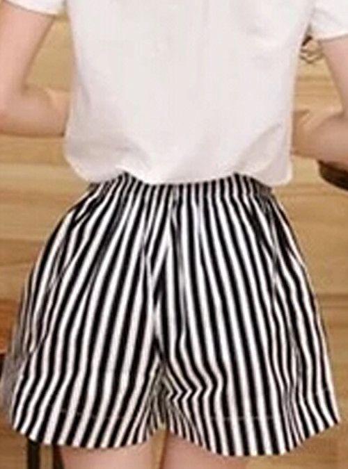 0e8ccaa127 Mujer Tallas Grandes Perneras anchas   Vaqueros Pantalones - A Rayas 2018 -  COL  35735