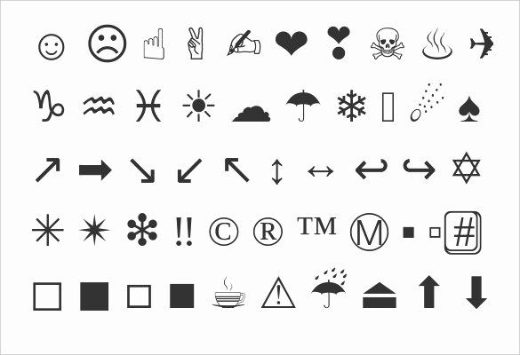30 Free Emoji Copy And Paste Example Document Template Emoji Copy Text Symbols Cute Text Symbols