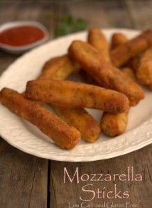 Maria Mind Body Health | mozzarella sticks, Zero Carb Mozzarella Sticks