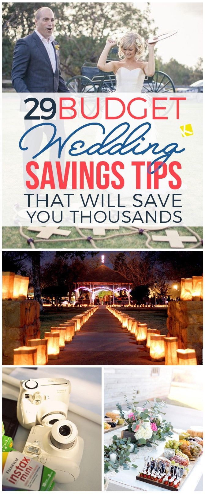 Budget wedding tips - great resource!