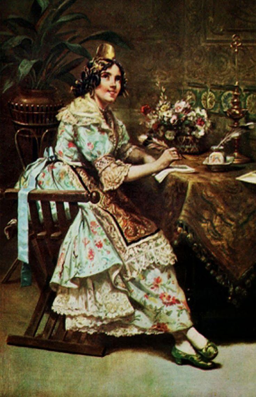 220 best pintura costumbrista valenciana images on - Pintor valenciano ...