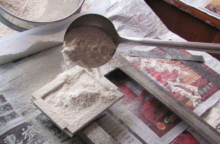 Rubber Pad Forming | eco-friendly white rubber powder for making stamp pads