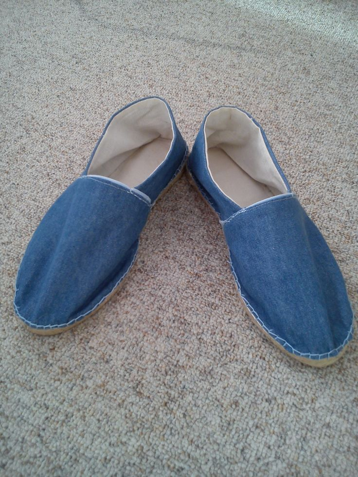 Espadrilles Selfmade with soles from Prym