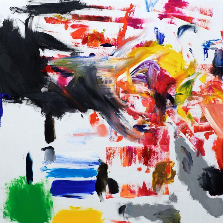 Invincible (Oil on wood panel, 90.5cm x 90.5cm, Dirk Marwig 2018)