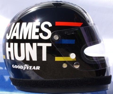 James HUNT Helmet