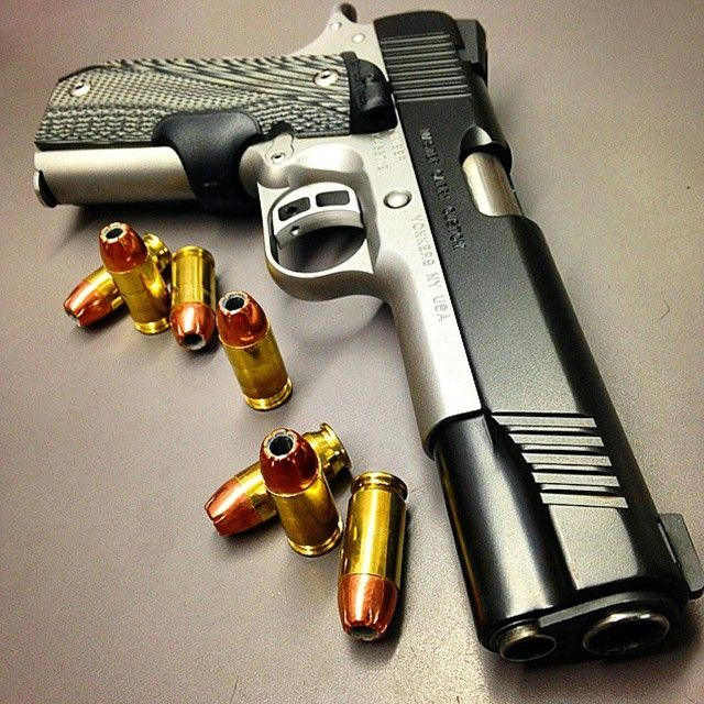 Kimber 1911 Master Carry Custom .45acp with Crimson Trace Laser