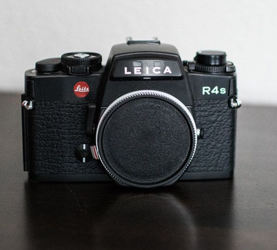 Leica R4s Vintage Film Camera by CheerfulCollections on Etsy