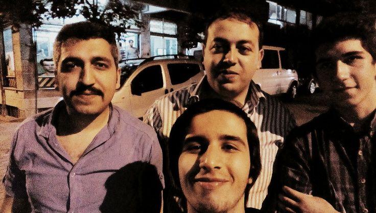 3 zenci 1 vampir adlı selfie çalışmamız :)