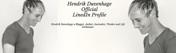 Follow me on LinkedIn: https://za.linkedin.com/in/hendrikduvenhage