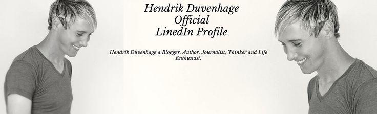 Follow me on LinkedIn: https://za.linkedin.com/in/hendrikduvenhage