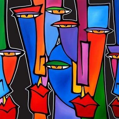 Découverte de l'artiste Tom Fedro et de ses oeuvres, une combinaison de peinture et de collages pop art..