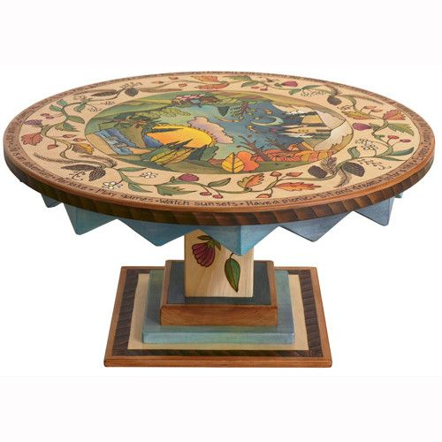 Best 25 Painted Round Tables Ideas On Pinterest Chalk Paint Table Chalk Painting Furniture