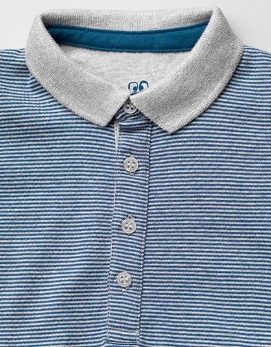 striped bodysuit with polo shirt collar - Collection - Mini (0-9 months) - Kids - ZARA United Kingdom