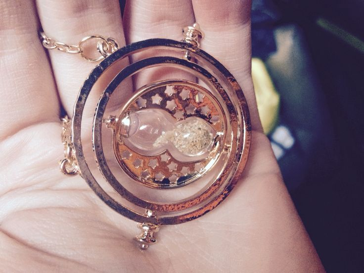 Harry Potter time turner necklace that I NOW OWN