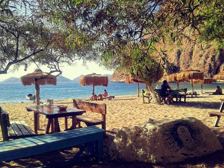 Beach at Butterfly Valley #Oludeniz #Fethiye #Turkey