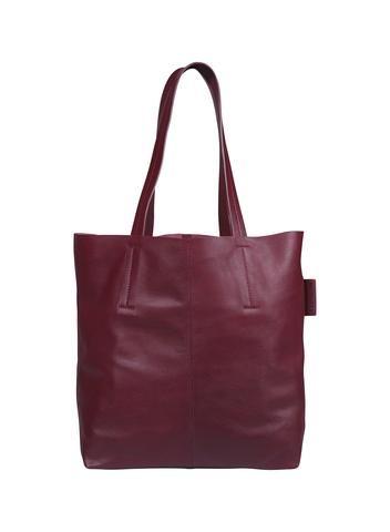MARIMEKKO MINIA 2 LEATHER BAG WINE RED  #red #wine #burgundy #leather #handbag #totebag #purse #bag #computerbag #marimekko #pirkkoseattle #pirkkofinland