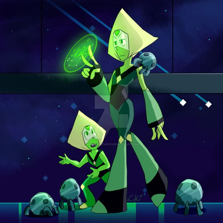 Peridot and Peridot by TwinkleStarCC