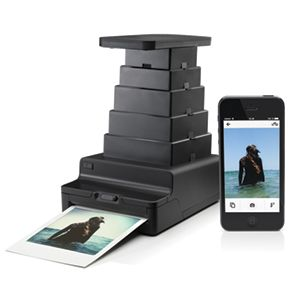 Print your iPhone photos on polaroid film with this gadget. This is the Impossible Instant Lab. #dowant #swoon