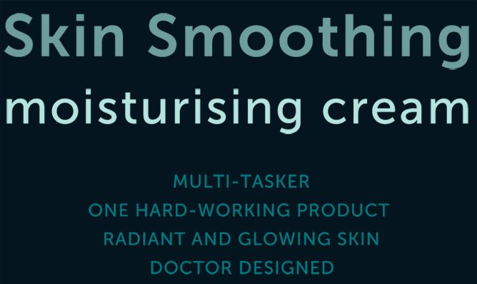 Skin Smoothing Moisturising Cream