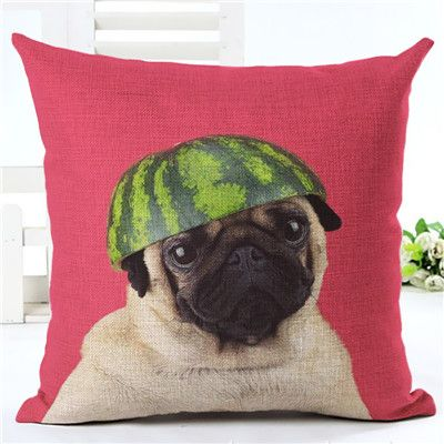 Animal cushion cover Dog for children Decorative Cushion Covers for Sofa Throw Pillow Car Chair Home Decor Pillow Case almofadas Who like it ? Get it here
