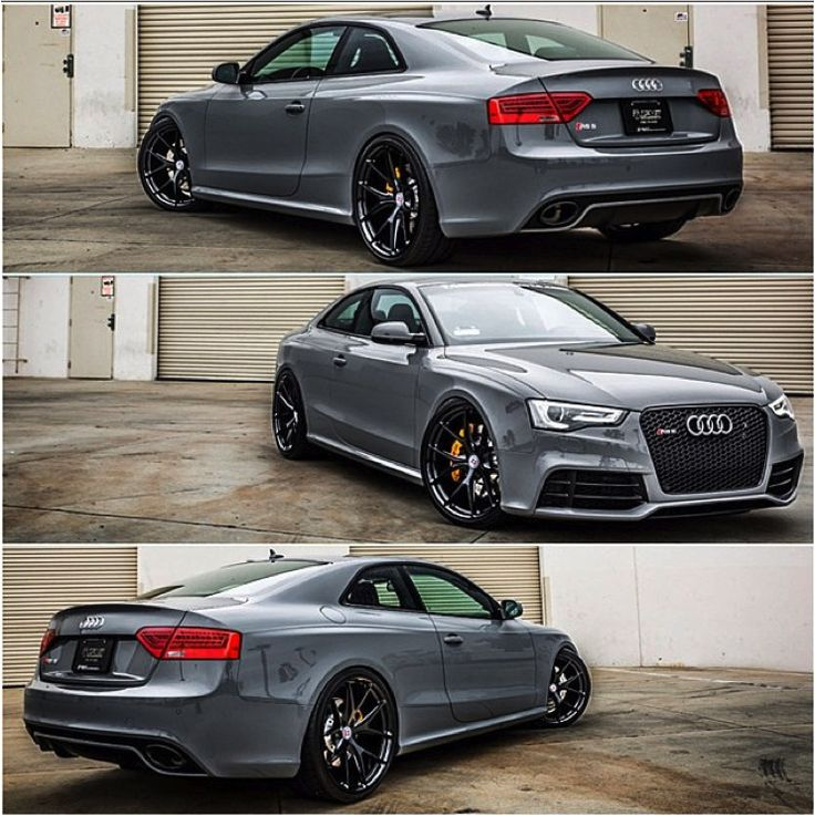 Different moods of Audi RS5: Triple treat to the eyes.