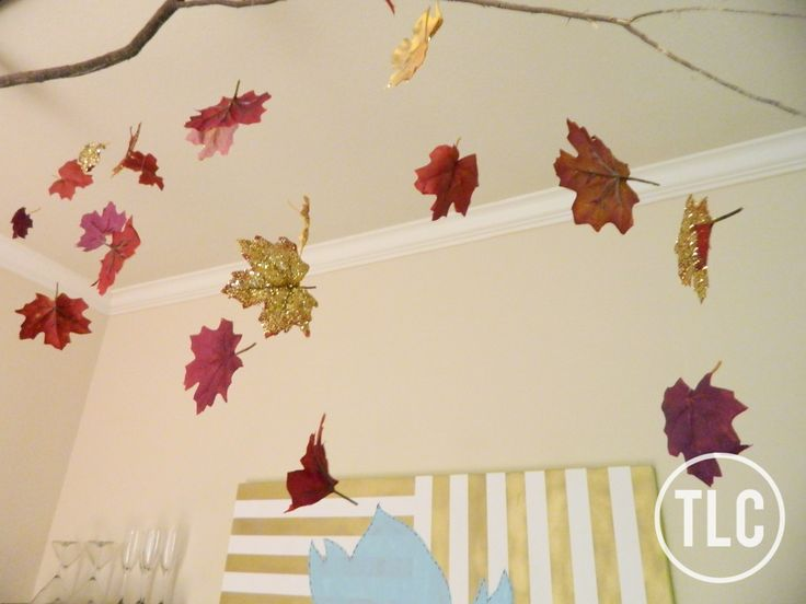 Diy Falling Leaves Decor Perfect For Autumn