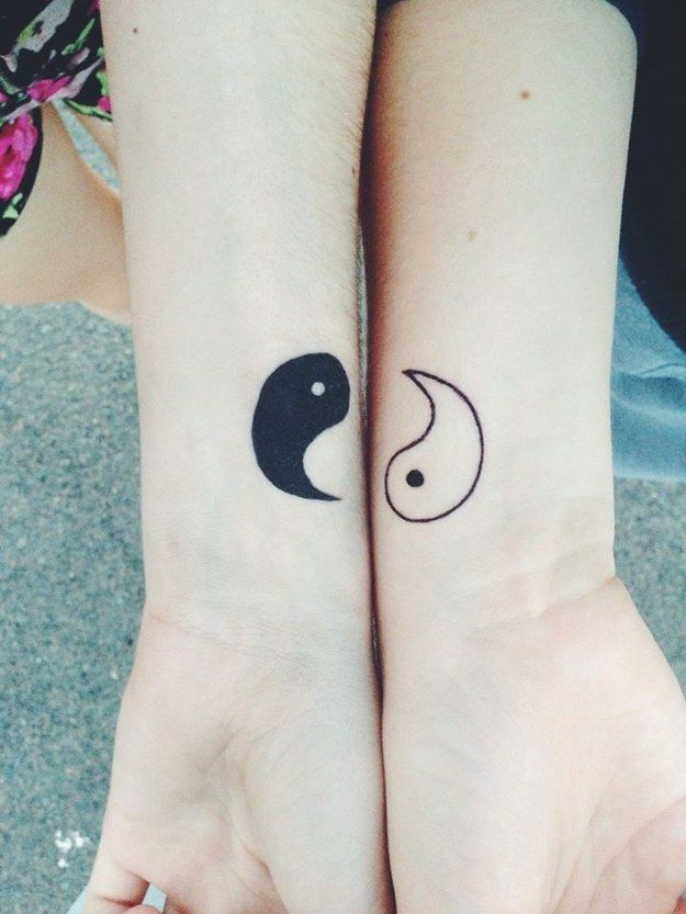 31 insanely cool and adorable matching tattoos for twins for Twin tattoos for mom